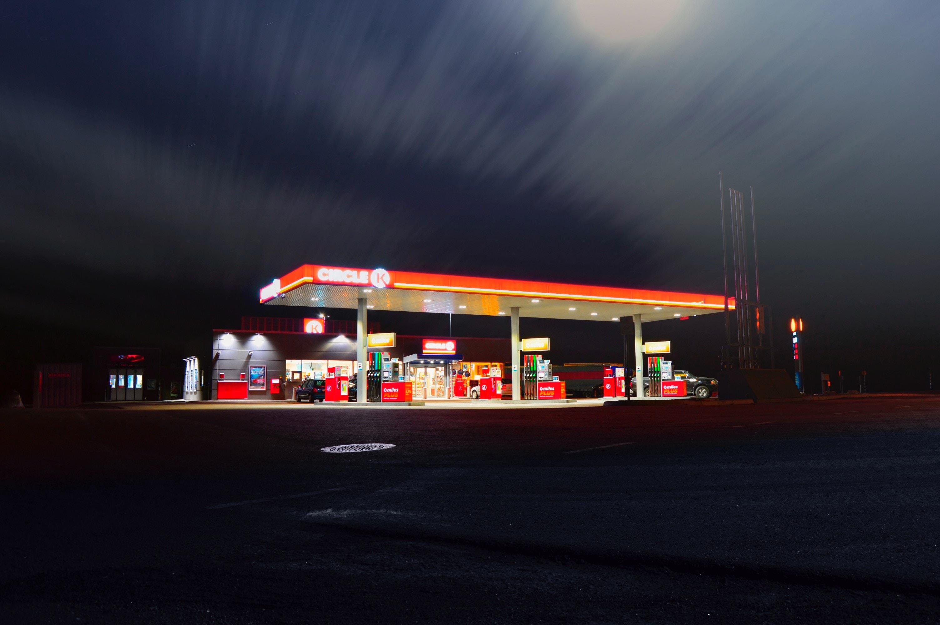 Eco Driving stacja benzynowa