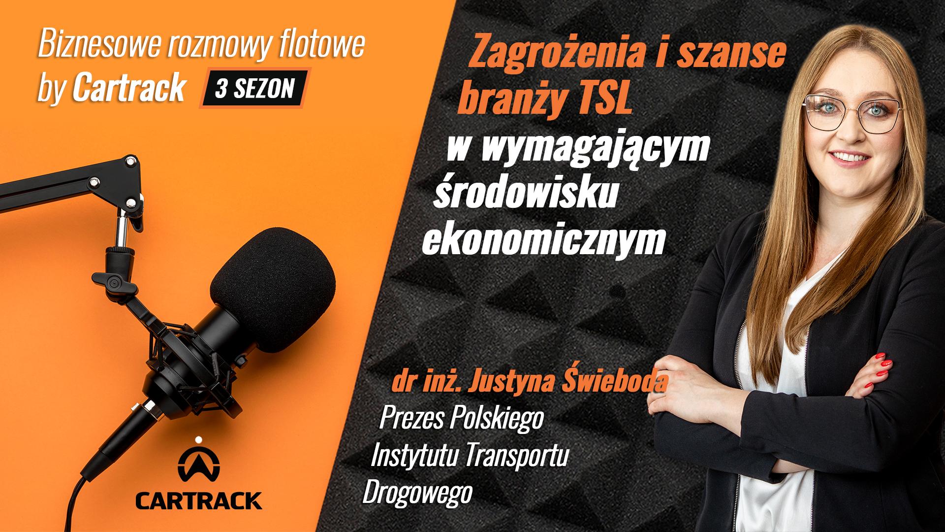 justyna swieboda polski isntytut transportu drogowego podcast
